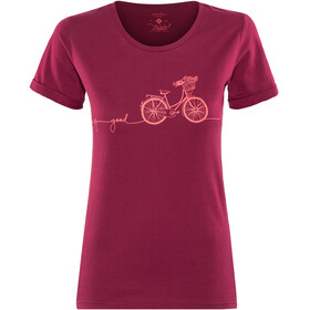 Triple2 Laag Bike T-Shirt Women Beet Red